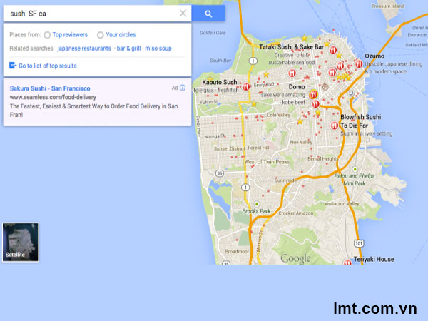 Google Maps mới