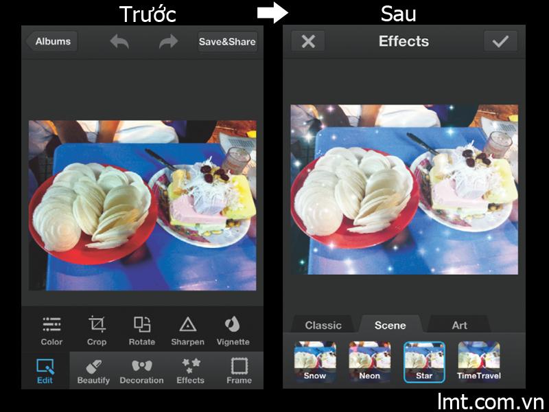 Phần mềm chỉnh sửa ảnh photo woder