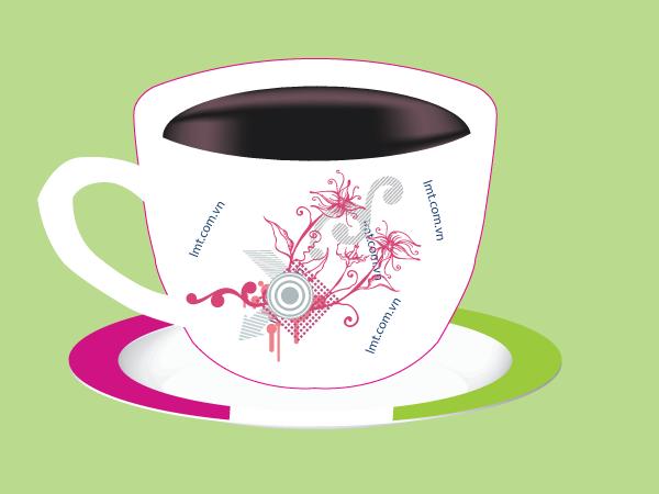 Tạo Tách Cafe Illustrator Cs6