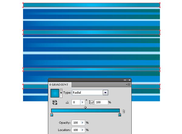 Tạo sóng thần Illustractor Cs6