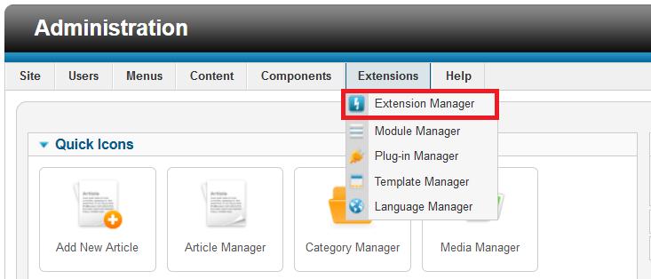 Thay đổi đường dẫn đăng nhập vào trang quản trị CMS Joomla