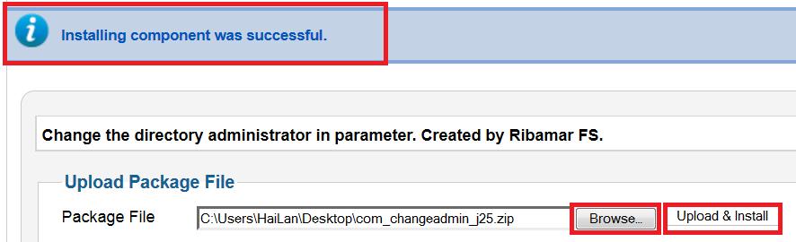 Thay đổi đường dẫn đăng nhập vào trang quản trị CMS Joomla 3