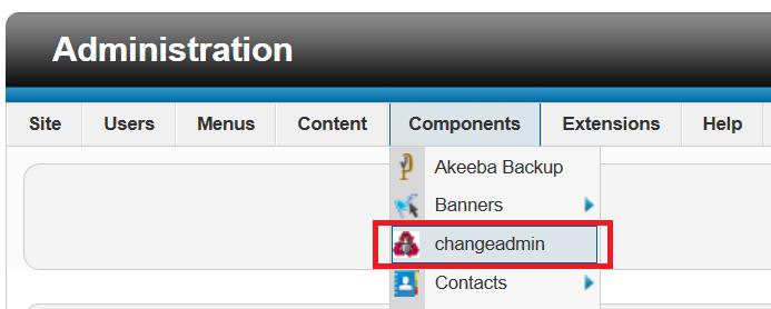 Thay đổi đường dẫn đăng nhập vào trang quản trị CMS Joomla 4