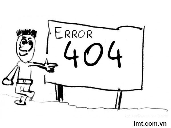 Trang 404 trong joomla 9