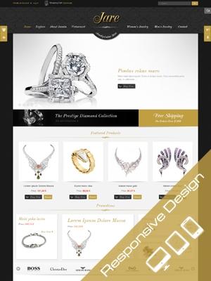 SJ JARE - Thiết kế website : Bán đồ trang sức 2