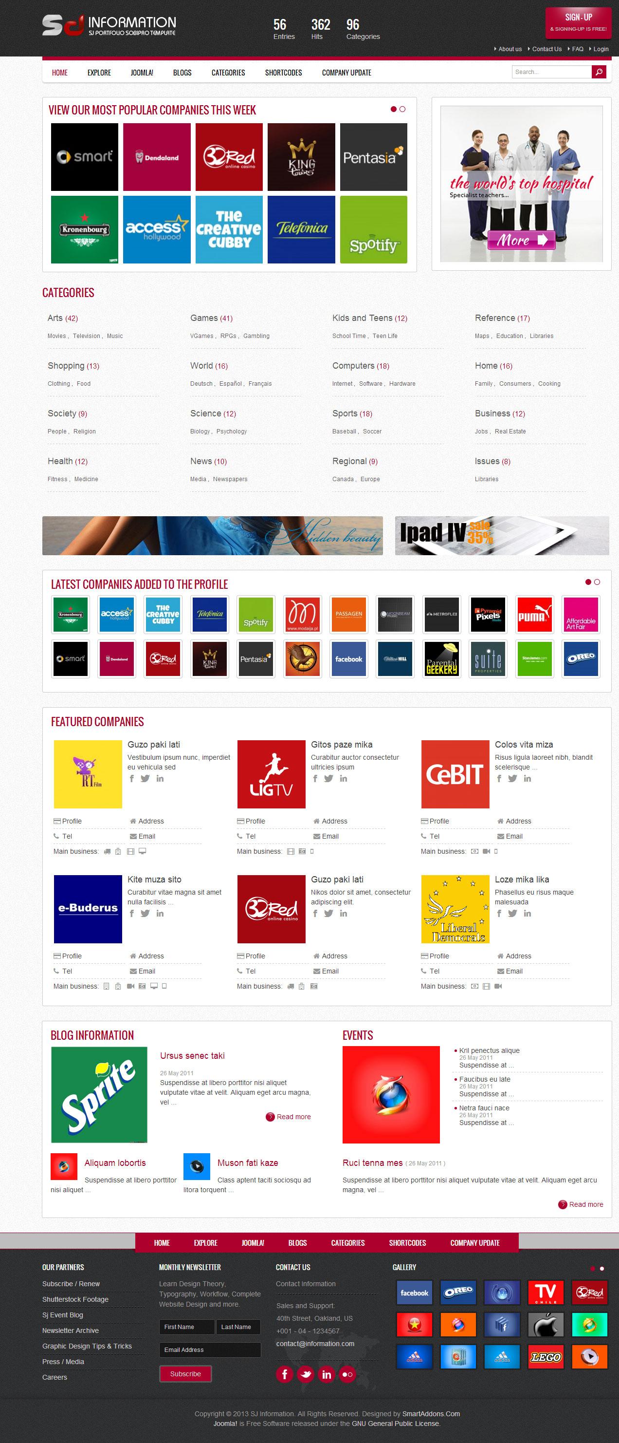 SJ information - Website thông tin doanh nghiệp