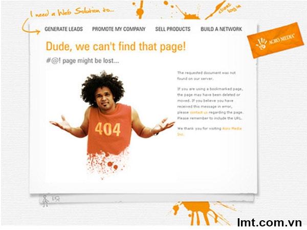 Giải pháp tốt nhất để tạo trang báo lỗi 404 1