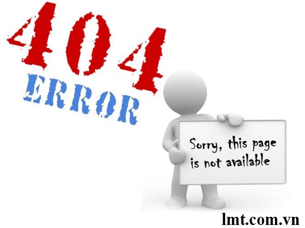 quá nhiều lỗi 404 không tốt cho trang