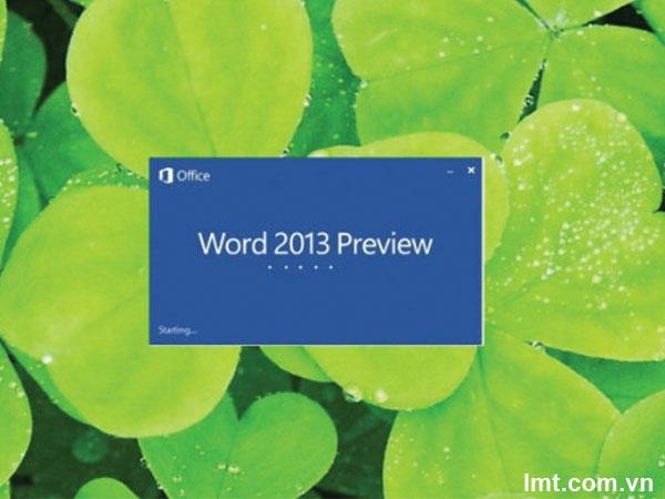 Hướng dẫn sử dụng Microsoft Office Word 2013 - P2 9