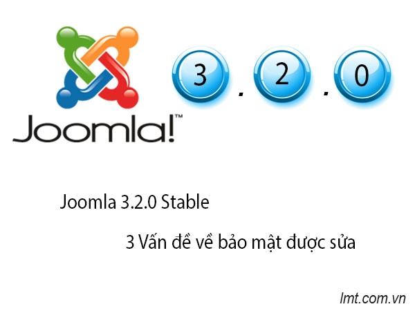 Phát hành phiên bản Joomla 3.2.0 Stable 4