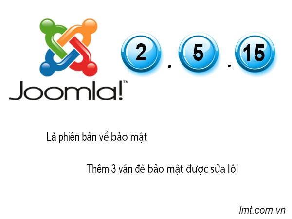 Joomla 2.5.15 Released 4