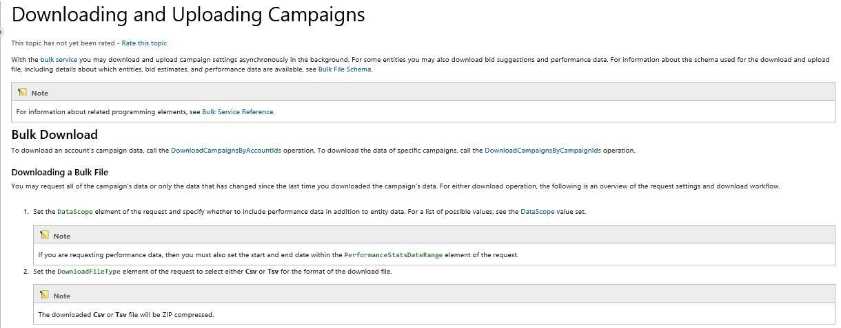 Đánh giá một năm của Bing Ads: Top 10 cải tiến quản lý chiến dịch