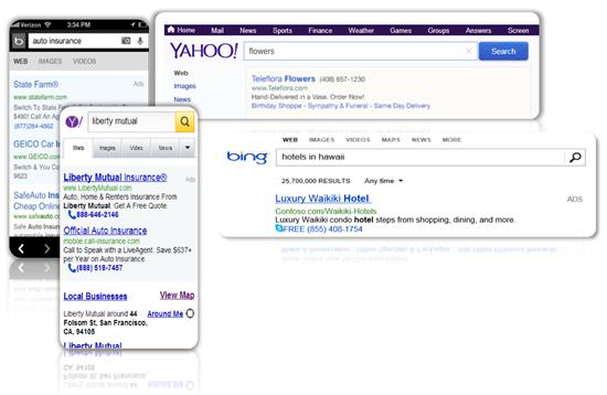 Đánh giá một năm của Bing Ads - call extensions