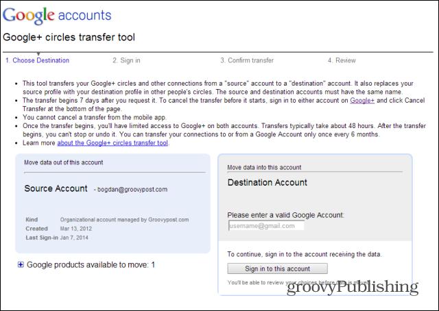 Blog Seo: cách thức hợp nhất 2 tài khoản Google+