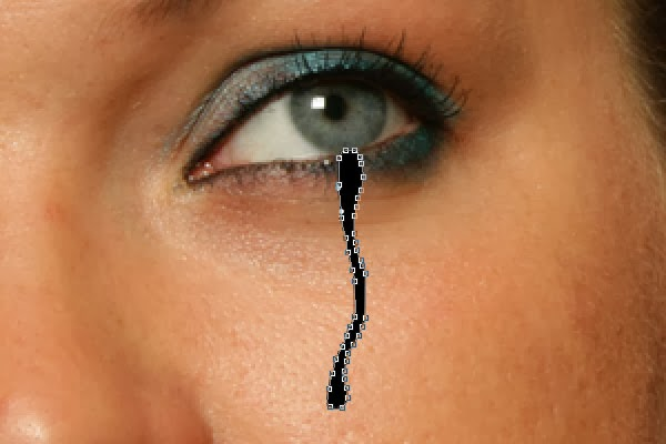 Cách tạo giọt nước mắt trong Photoshop CS6