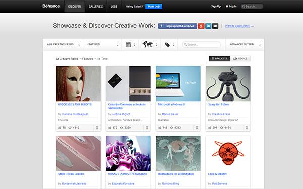 Những mẫu website tạo portfolio mà bạn nên xem