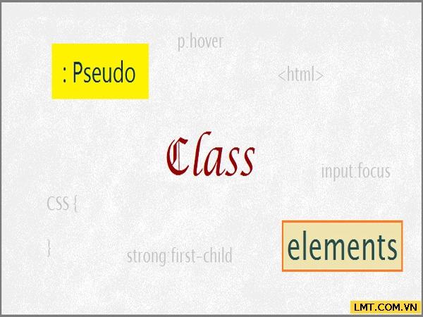 Bài 6: Định dạng đường dẫn, liên kết và các lớp giả động(Pseudo Class) trong CSS 1