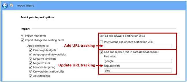 thắc mắc về  Bing Ads Editor