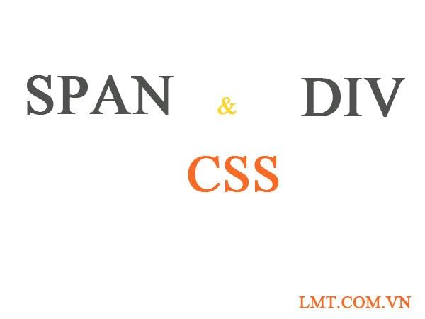 Bài 8: Span và Div trong Css 1