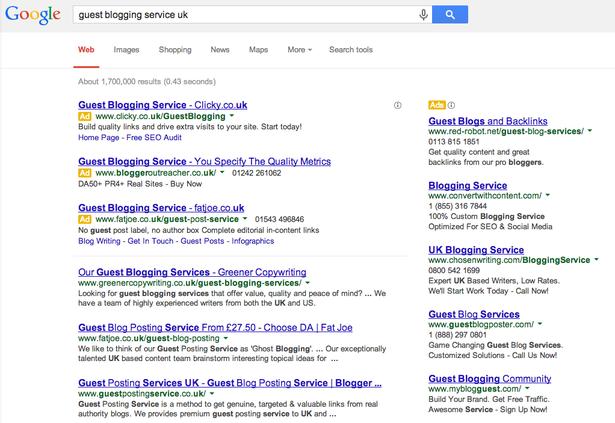 Guest Blogging tiếp cận với tiếp thị số