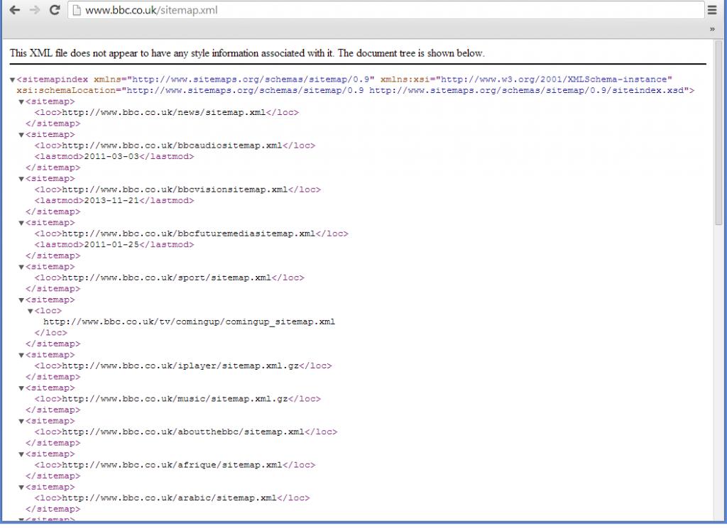 submit sitemap lên bing webmaster tools