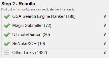 kiểm tra rank của link liên kết không tự nhiên