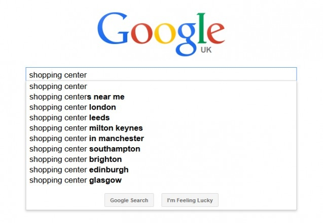Khám phá tính năng Google Suggest 1
