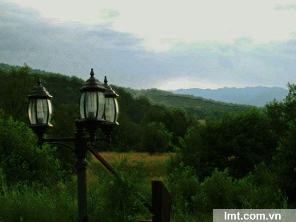 Thay đổi ánh sáng cho bức tranh photoshop CS6 8