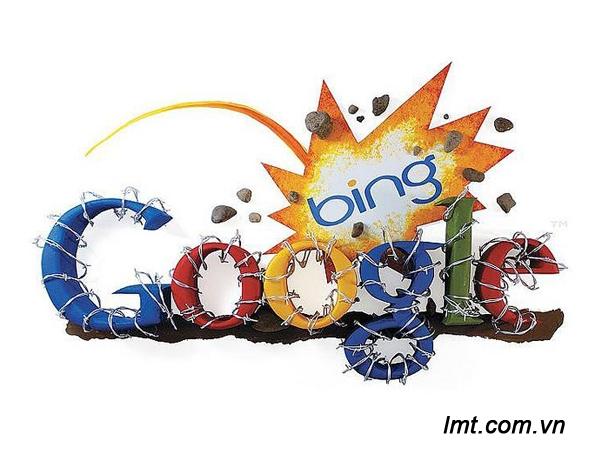 Cạnh tranh của Bing seach trên thị trường tìm kiếm 1