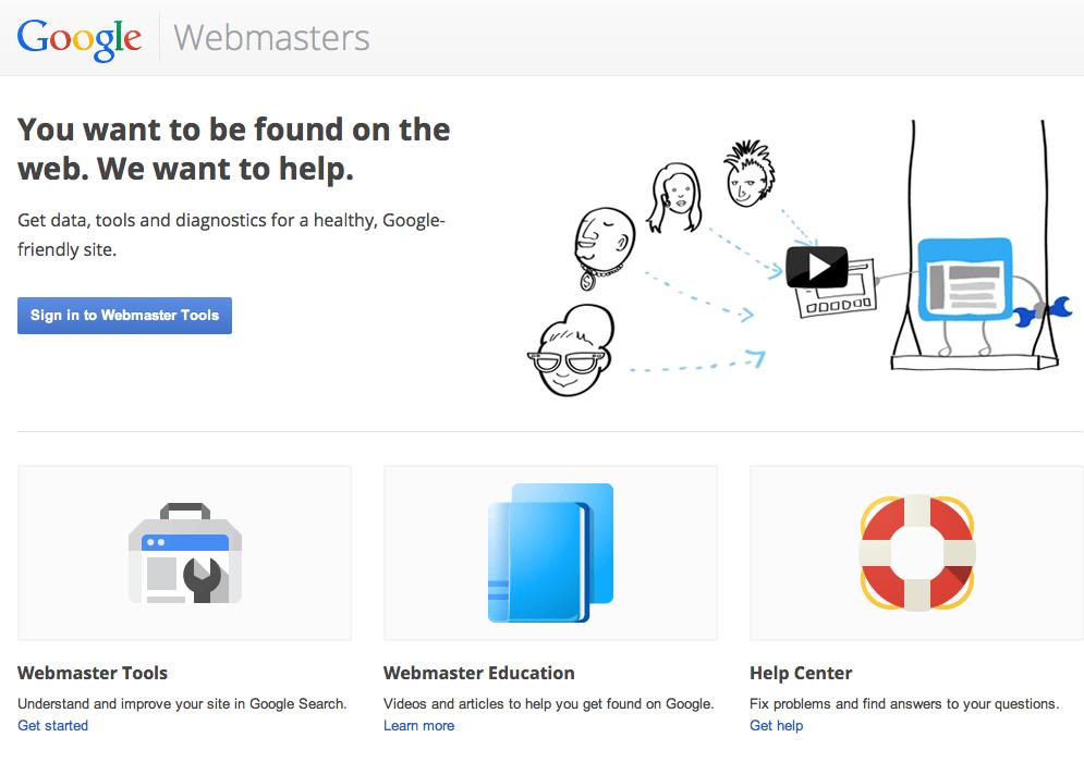 Kiểm tra google webmaster cho sự sụt giảm traffic