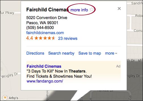 Google map thêm thông tin doanh nghiệp