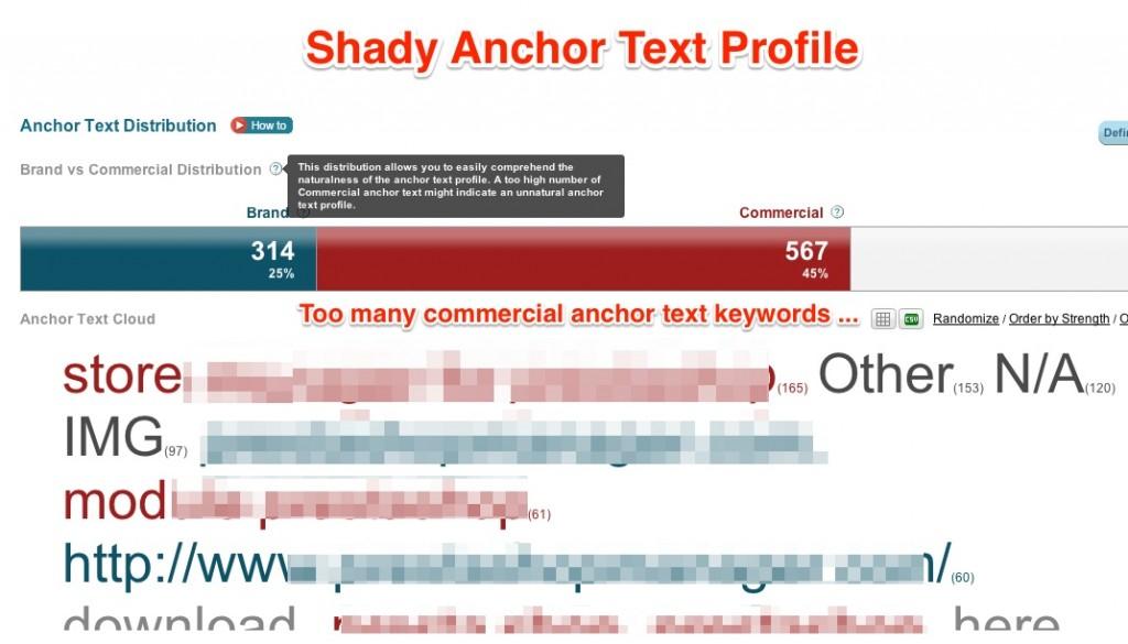 Phân tích anchor text trong seo