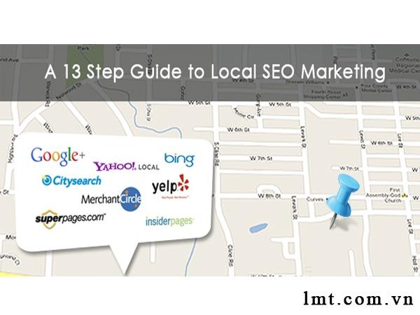 13 Bước tiếp thị SEO dành cho doanh nghiệp địa phương( Local SEO) 1