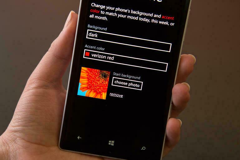 Tùy chỉnh thiết bị với Windows Phone 8.1