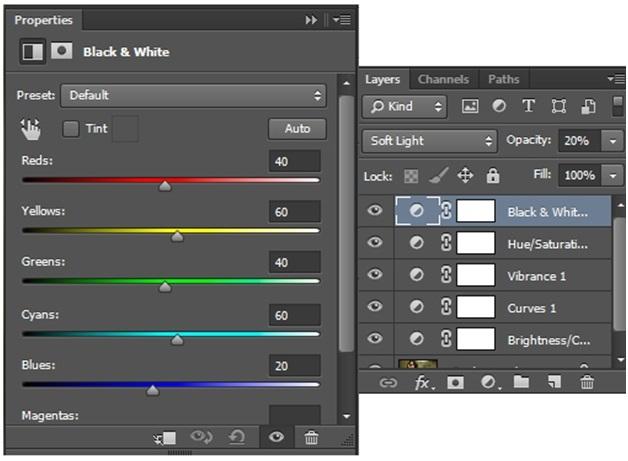 """Blend """" sắc màu tháng 8 """" bằng photoshop 11"""