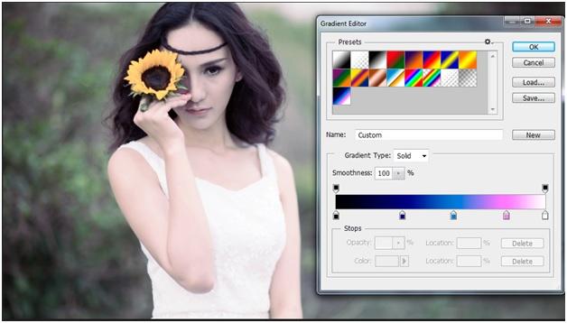 """Blend """" sắc màu tháng 8 """" bằng photoshop 13"""