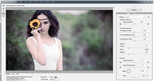 """Blend """" sắc màu tháng 8 """" bằng photoshop 14"""