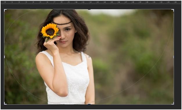 """Blend """" sắc màu tháng 8 """" bằng photoshop 4"""