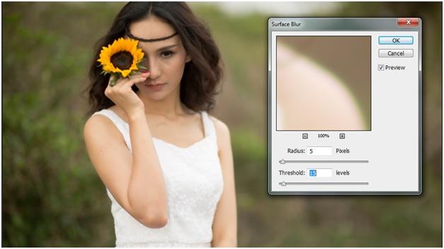 """Blend """" sắc màu tháng 8 """" bằng photoshop 5"""