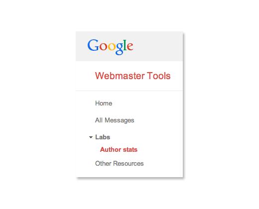 thống kê về tác giả trên google trong GWT