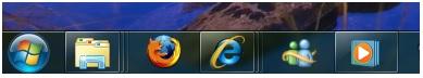 sử dụng superbar trong windows 7