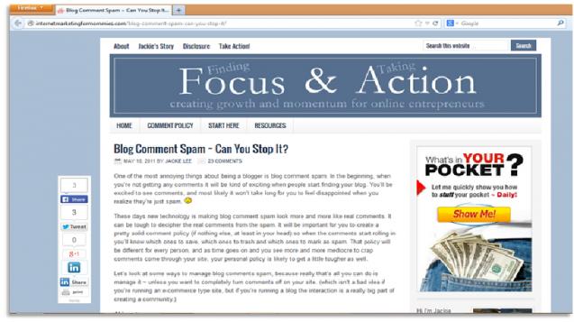 Tập trung nội dung cho blog doanh nghiệp