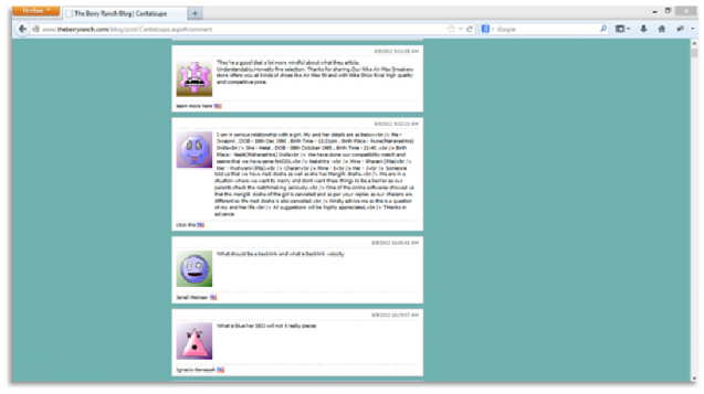 điều chỉnh comment trong blog doanh nghiệp