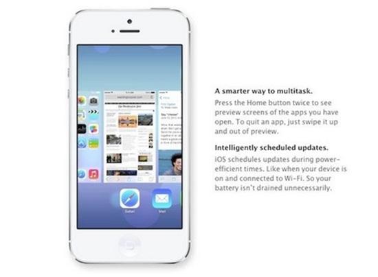 Tính năng nổi trội của iOS 7