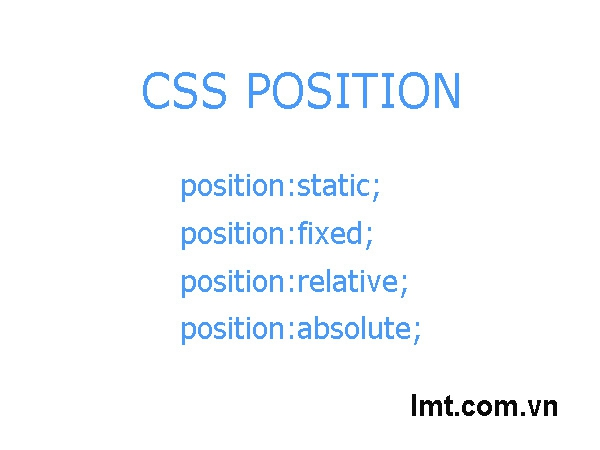 Postion trong CSS 1