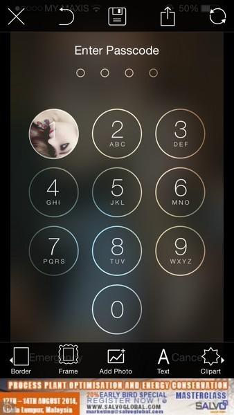 Hướng dẫn tạo ảnh trên màn hình khóa cho Iphone và Ipad