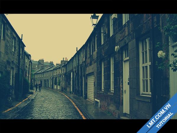 """Tạo Blend """" màu Film cổ xưa"""" bằng photoshop CS6 1"""