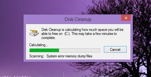 Sử dụng Disk Cleanup tăng không gian ổ cứng
