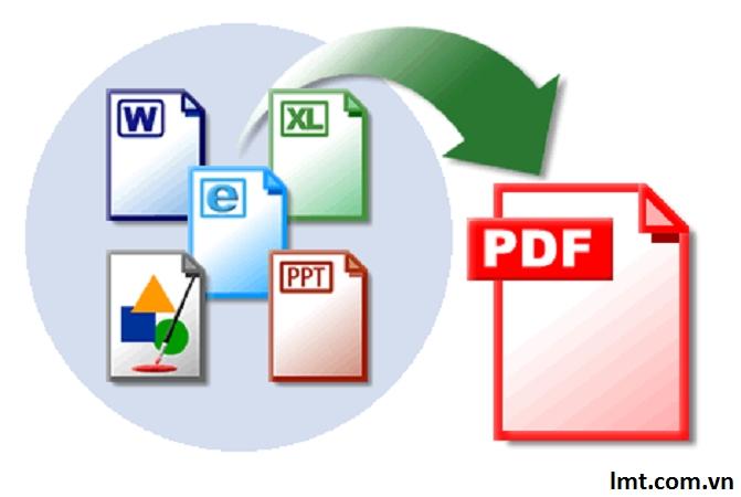 Cách chỉnh sửa word, excel, powerpoint sang PDF 1