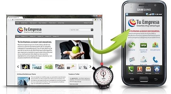 Điều hướng nội dung cho website di động